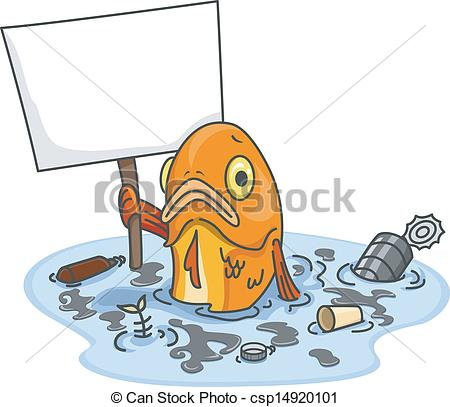 Pollution clipart sad With Water With Vector Clipart