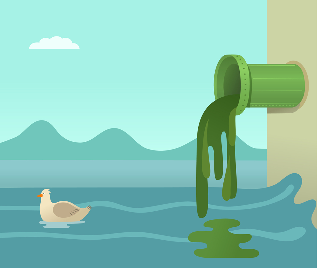 Pollution clipart sea pollution  CSS3_five