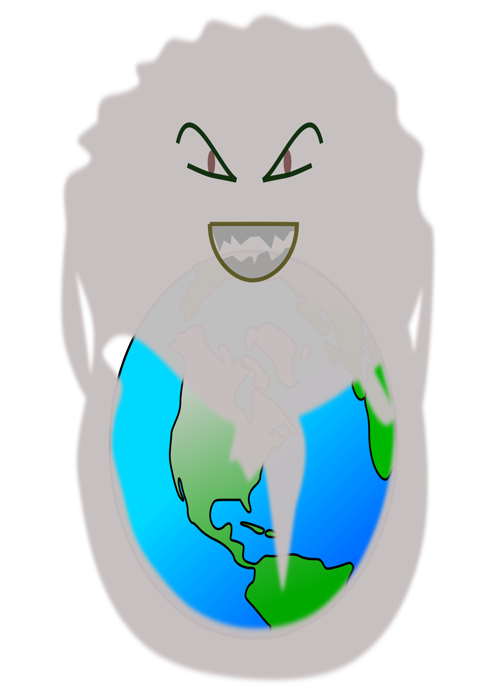 Pollution clipart transparent Polluting BIG IMAGE earth (PNG)