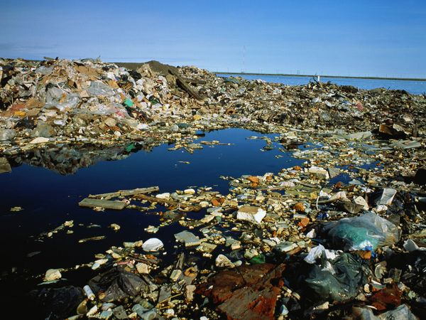 Pollution clipart unclean environment <p>Photo: garbage Open the Polluted