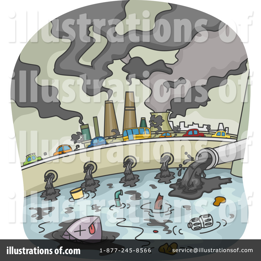 Pollution clipart unclean environment Studio Royalty Ecology Free by