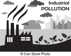 Pollution clipart vector Of Air silhouette pollution Vector