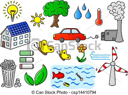 Pollution clipart vector Icon Vector EPS of energy