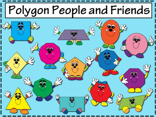 Polygon clipart #5