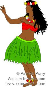 Polynesia clipart Of Hula Image Art Hawaiian