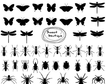 Ant clipart silhouette Silhouette ant art clipart Ant