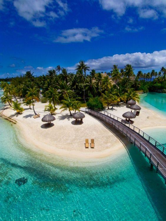 Caribbean clipart polynesian Bora Bora Polynesia Bora French