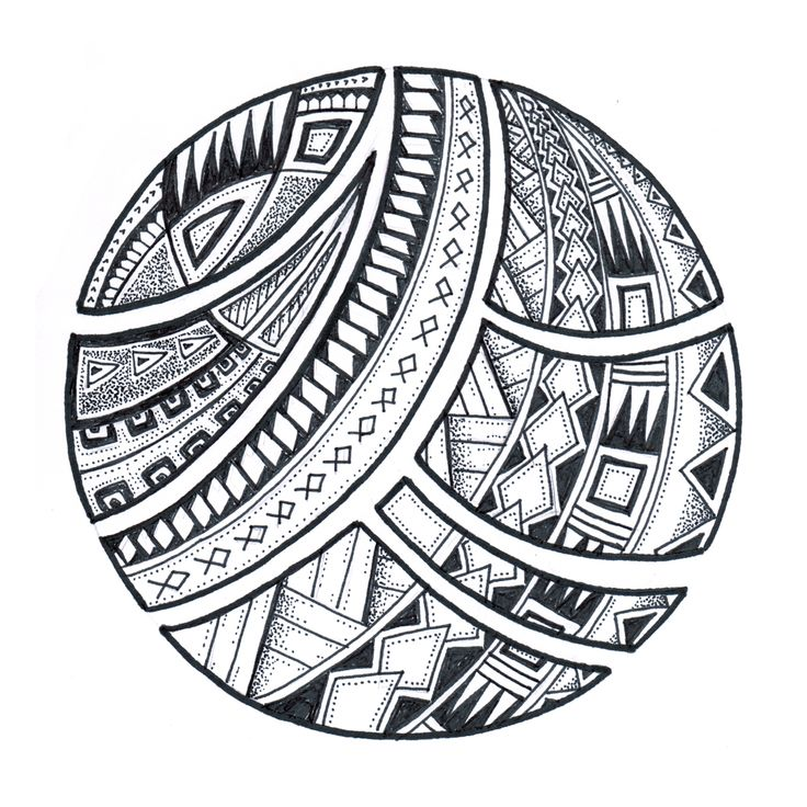 Polynesia clipart circle Samoan Search designs tattoo Polynesian