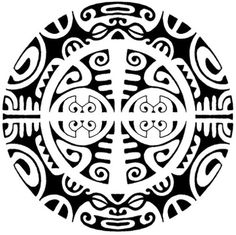 Polynesia clipart circle маори  в Tattoos Google