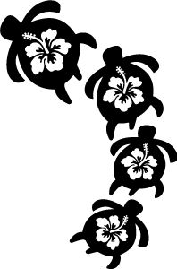 Turtle clipart hawaii #1