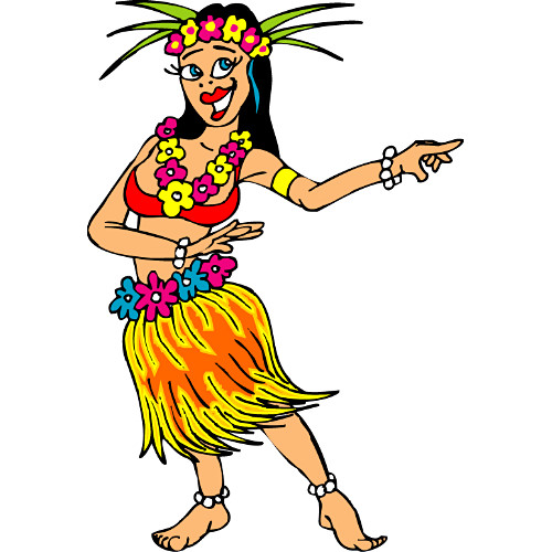 Hawaii clipart hula dancer Clipart Free Download Clip Girl