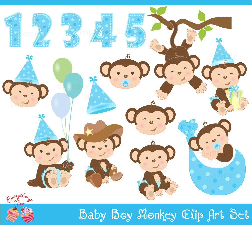 Turtle clipart baby monkey #5
