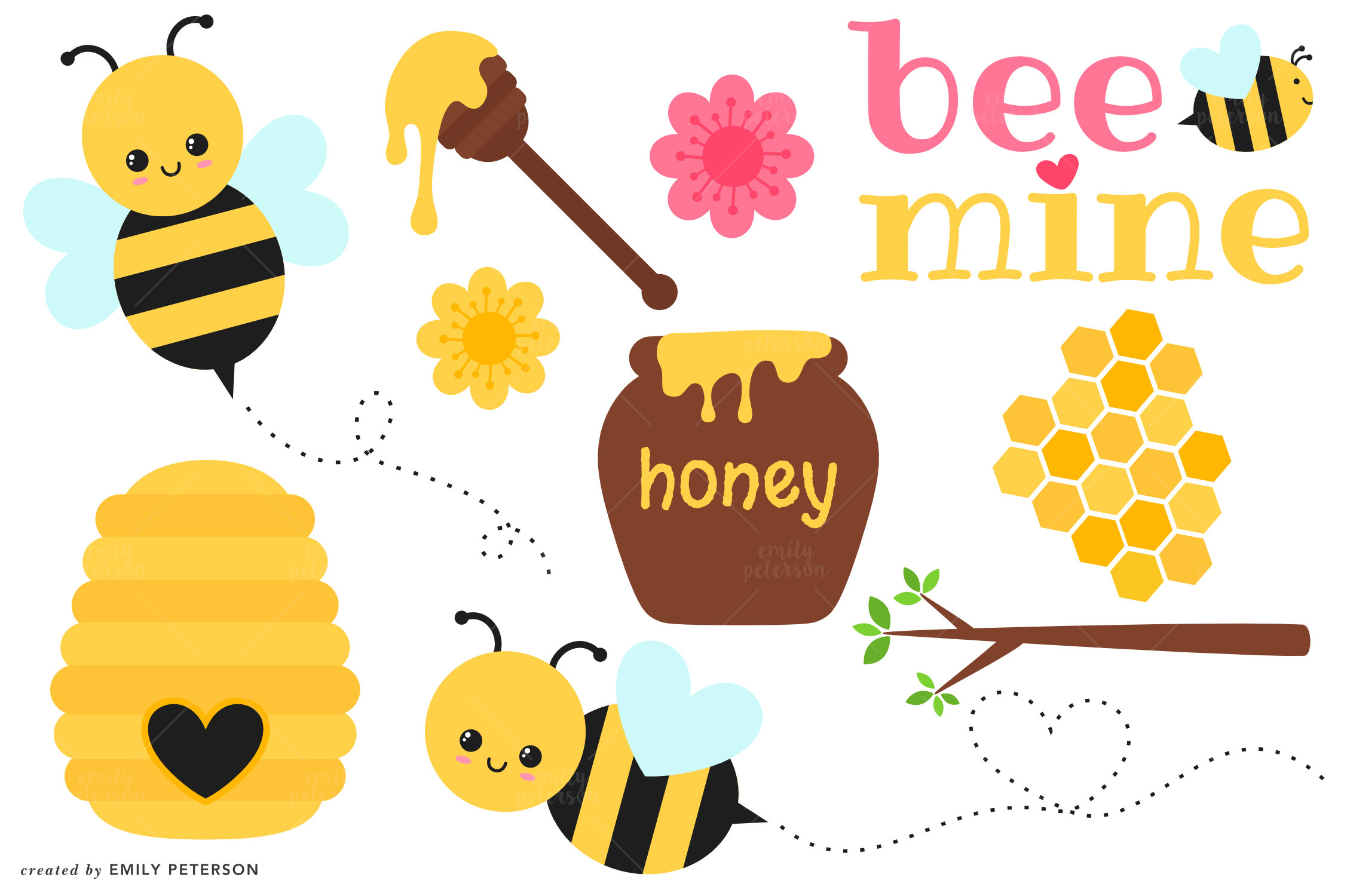 Polynesia clipart pollination  Limited Use Personal Download
