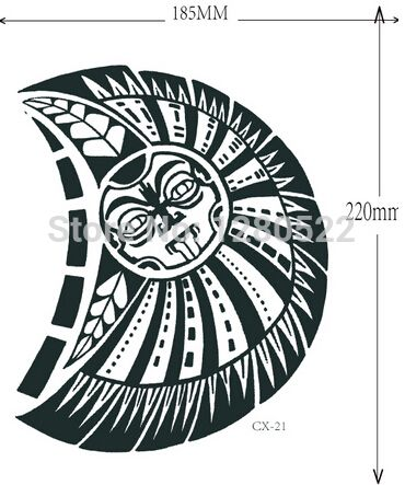 Polynesia clipart shoulder Best tattoos 3D for Temporary
