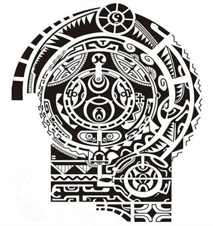 Polynesia clipart shoulder 25+ arm Half Decoration Arm