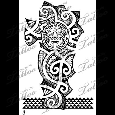 Polynesia clipart shoulder Polynesian Sleeve tattoos Polynesian #5929