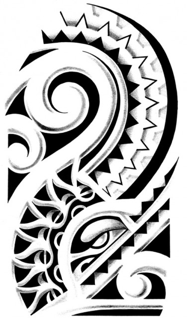 Polynesia clipart shoulder Patterns  arts and tattoos