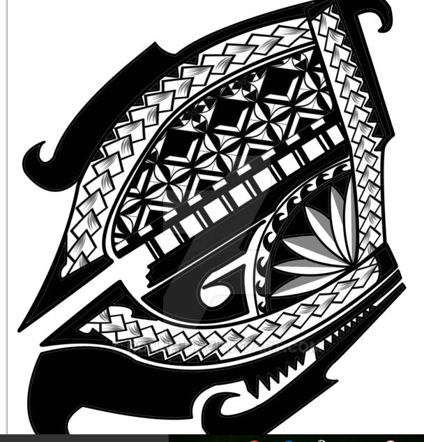 Polynesia clipart shoulder Τατου  βεσπα Pinterest tattoo