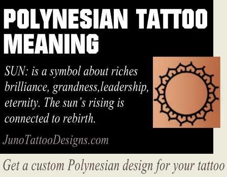 Polynesia clipart symbol meaning Sun & polynesian Tattoos art