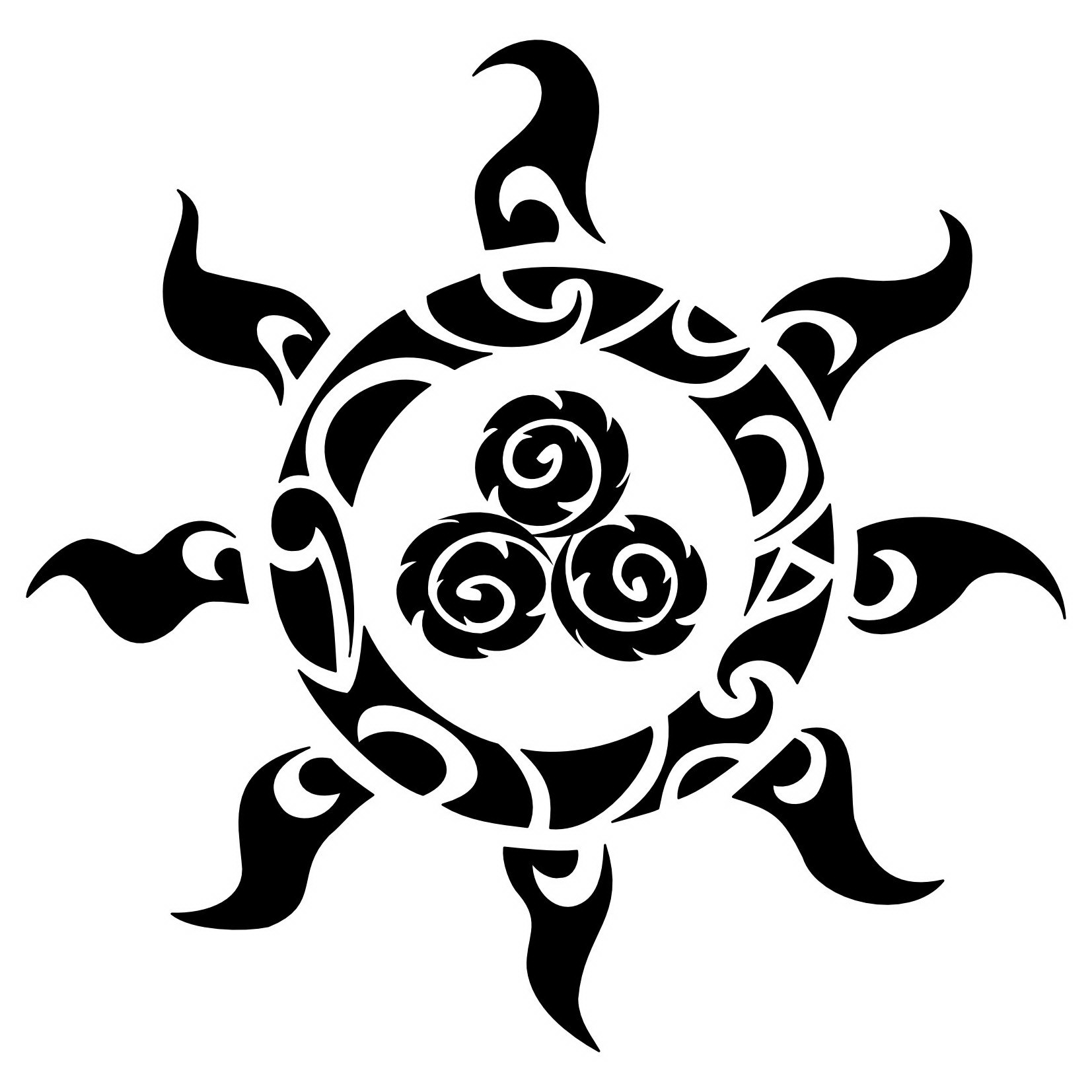 Polynesia clipart symbol meaning And Sun and symbols