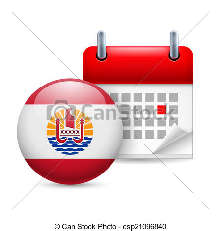 Polynesia clipart vector Icon Icon of French of