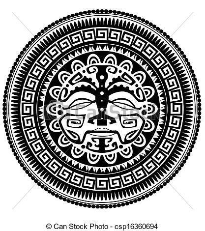 Polynesia clipart vector Polynesian Art  Clip Search