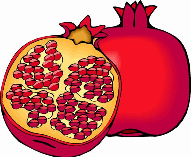 Pomegranate clipart anar Clipart Free Pomegranate Images Clipart