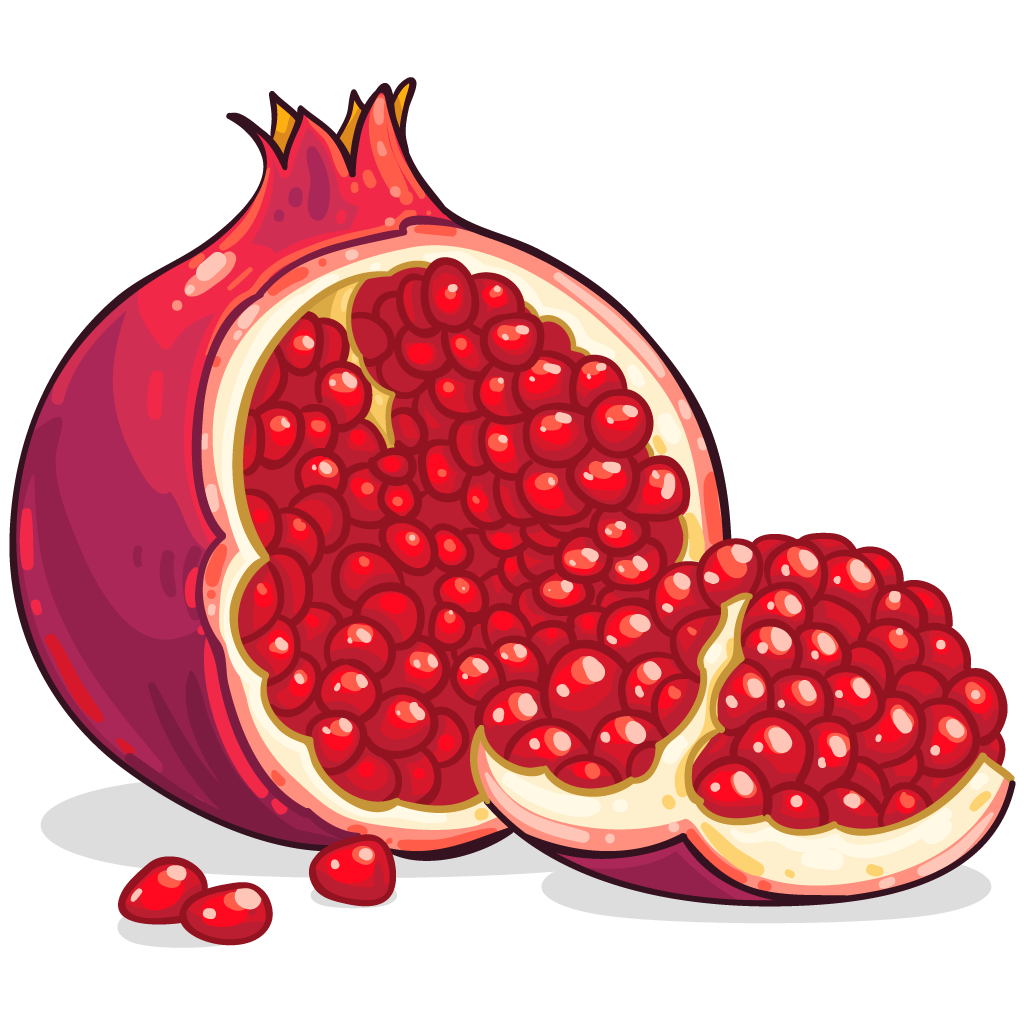 Pomegranate clipart anar Free images PNG download Pomegranate