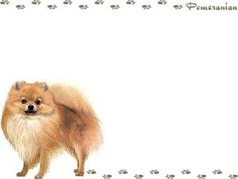 Pomeranian clipart Pomeranian (Free graphics Pom Pom