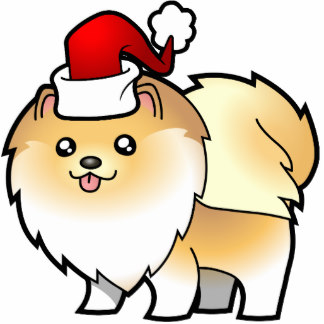 Pomeranian clipart Christmas & Cutouts Photo Dog