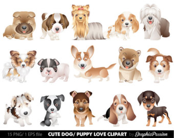 Pets clipart dog owner Clipart Clipart 2 cute dogs