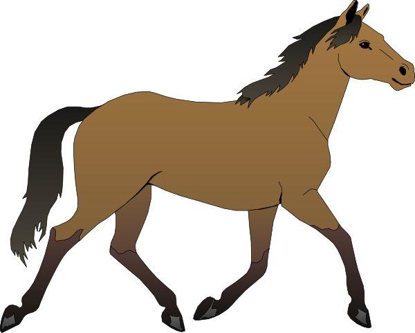 Brown clipart pony Party Google Clipart Clip com