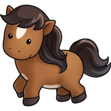 Brown clipart baby horse Pony Pony Free 14 Clipart
