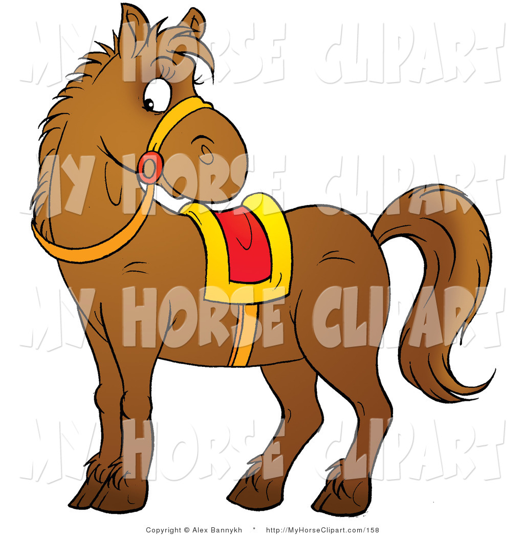 Saddle clipart horse saddle #12