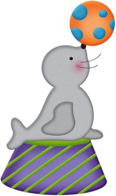 Seal clipart circus show #7