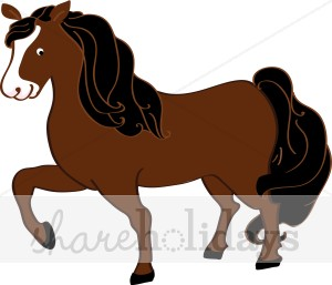 Brown clipart pony 74 68 Clipart Pony Free