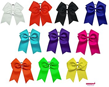 "Ponytail clipart hair bow Jumbo Big Ponytail 7"" Jumbo"