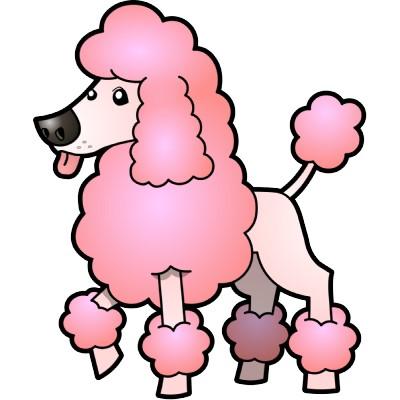 Poodle clipart Poodles poodle pink image poodle