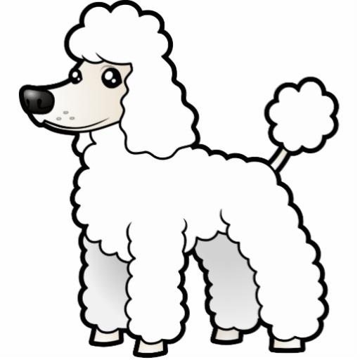 Drawn poodle clipart Graphics  Poodle Poodle poodle