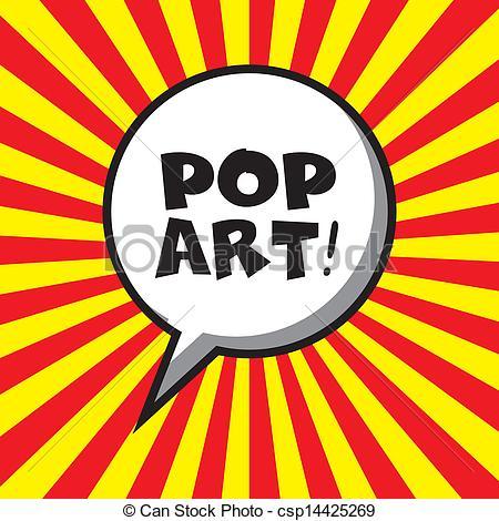 Pop Art clipart Vector Clip background lines pop