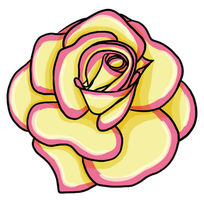 Yellow Rose clipart animated Butterfly animated animated favorite art