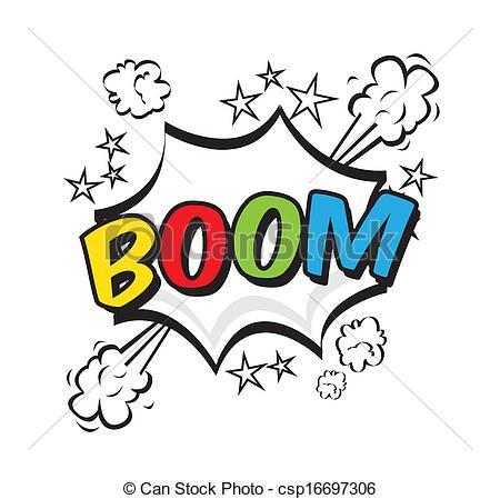 Boom clipart art Pop  over art boom