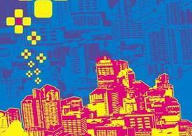 Pop Art clipart city Clipart City Graphic me Art