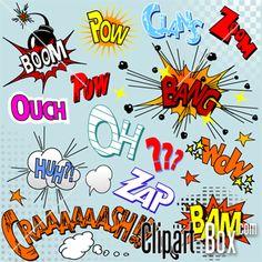 Batgirl clipart pop art #6