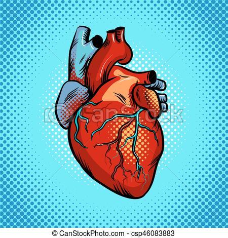 Pop Art clipart heart #3