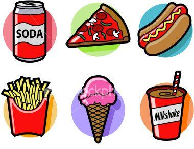 Pop Art clipart junk food Am the i Food pop