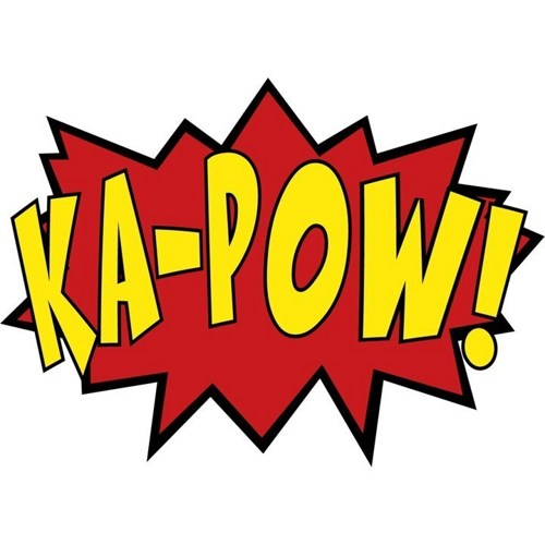 Comics clipart boom Effects Pow Decals Wall ·