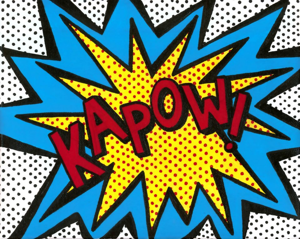Comics clipart kapow More BAM Pinterest BAM Kapow!