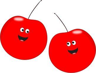 Pop Art clipart two cherry #13