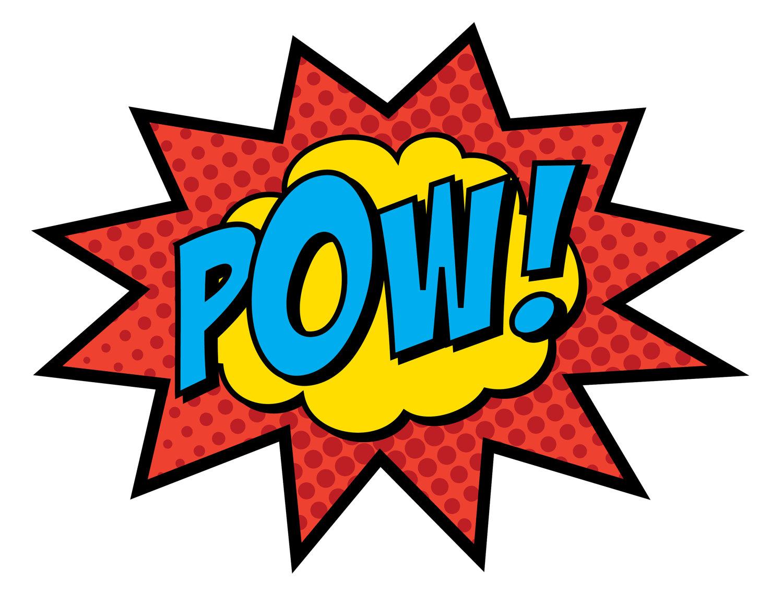 Batman clipart comic book Bam PRINTED 11 11 5
